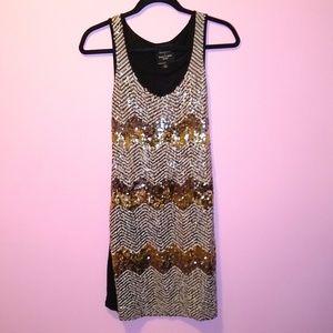 Romeo & Juliet Couture Gossip Girl Sequin Dress M